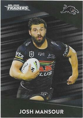2020 Nrl Traders Platinum Parallel (PS107) Josh MANSOUR ...