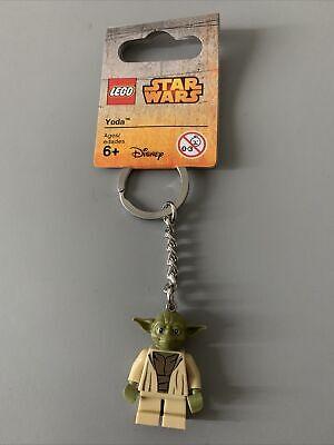 Lego key chain 853449 Star Wars JEDI MASTER YODA Accessories w// Tags Minifigure