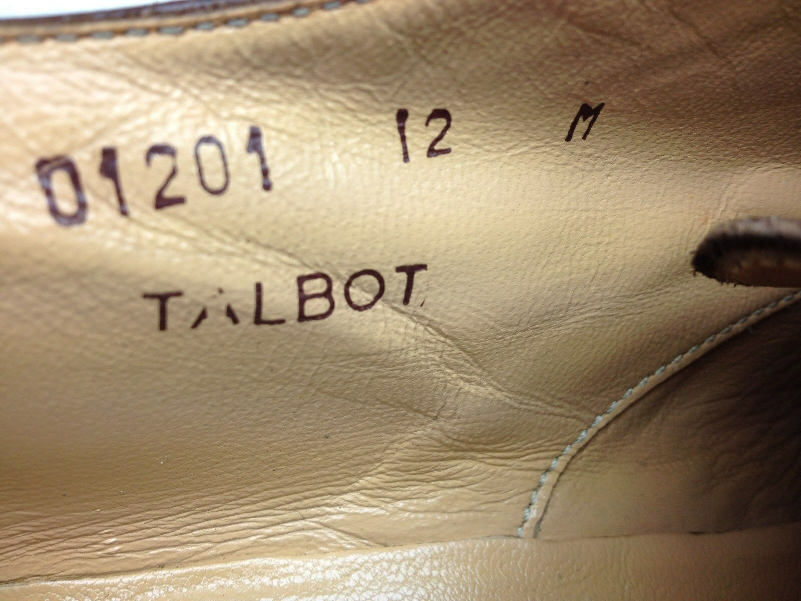 braun LEATHER BRUNO TOE MAGLI TALBOT CAP TOE BRUNO LACE UP OXFORD BUSINESS DRESS schuhe 12M 937703