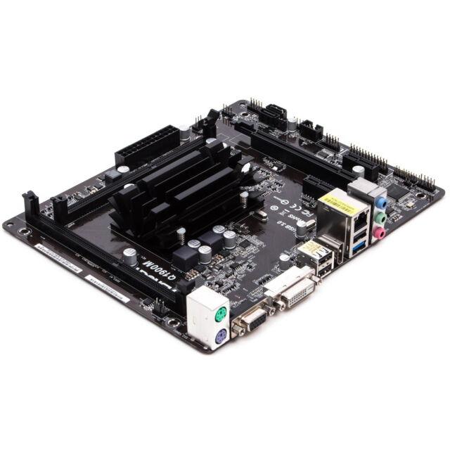 SCHEDA MADRE ASROCK Q1900M CON CPU PROCESSORE INTEL QUAD CORE 2GHZ DDR3 MICROATX