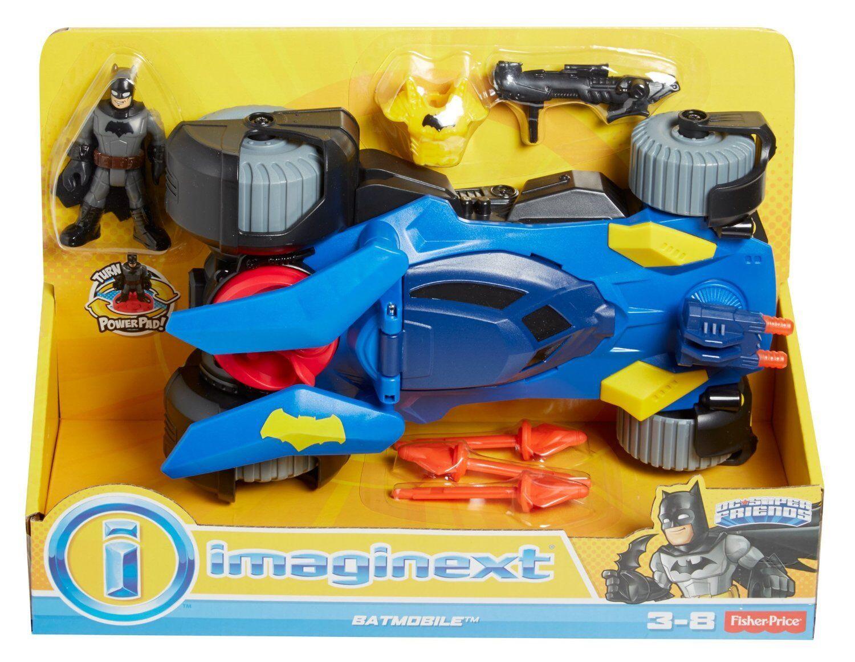 Imaginext DC Super Friends - Deluxe Batmobile BRAND NEW
