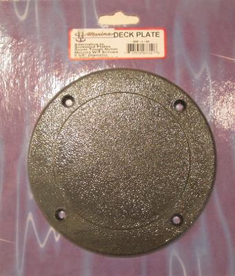 "Louvered Vent Cover Black 4/"" Hole 5 5//8/"" Diameter T-H Marine LV1DP"