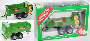 Siku-2964-Stalldungstreuer-smaragdgruen-BERGMANN-1-32-OVP