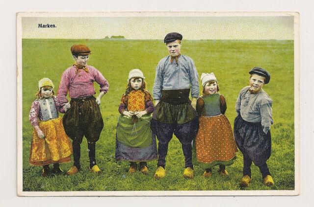 DUTCH CHILDREN on a postcard