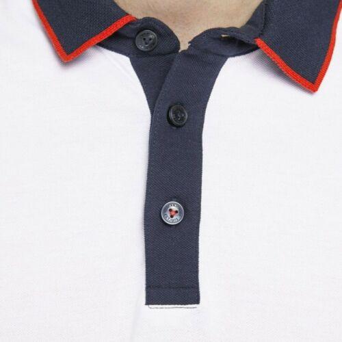 JACK/&JONES Hombre Polo Camiseta Top TS Cuello 23161