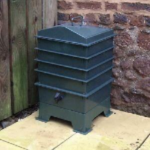 Grun Original Organics Wurm Komposter 4 X Tablett Kompost Abfall