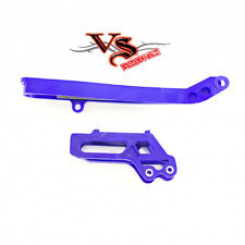Polisport Chain Guide & Slider Kit YAMAHA YZF250 YZF450 09-17, WR250F 15-17 BLUE