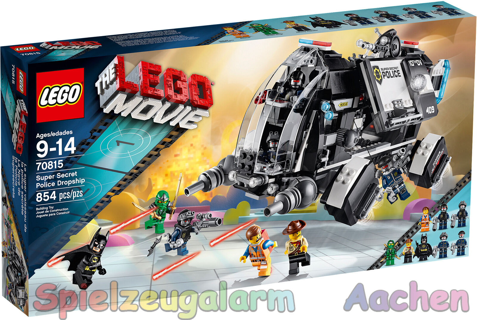 LEGO THE MOVIE 70801 70803 70804 70805 70806 70807 70808 70808 70808 70809 70811 70812 70813  | Spezielle Funktion