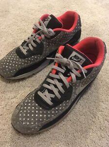 new arrivals 757ca cd19e Nike Air Max 90 LTR Premium Polka Dot Mens Size 15 Black Granite ...