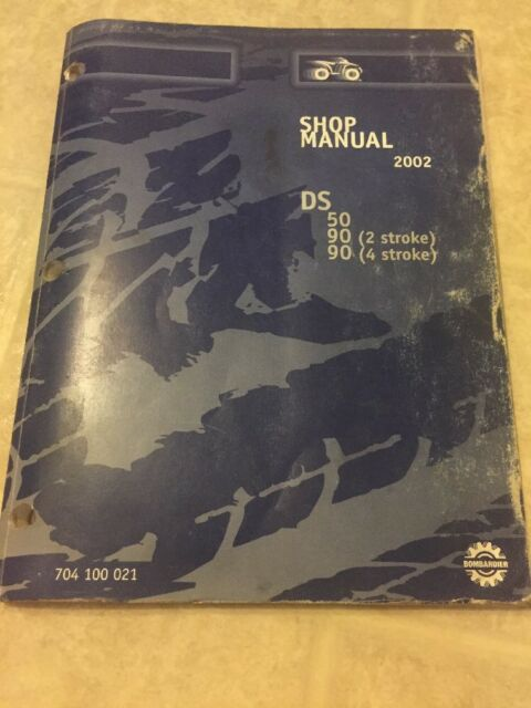 repair manual for bombardier ds90
