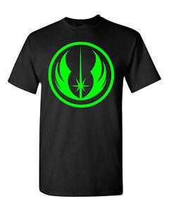 Star-Wars-Jedi-Order-T-shirt-Rebel-Knight-Alliance-Yoda-100-Cotton-Gildan