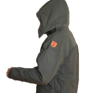 salvare 76b78 7e17d Dettagli su Giacca giubbino impermeabile antistrappo ignifugo abbigliamento  caccia