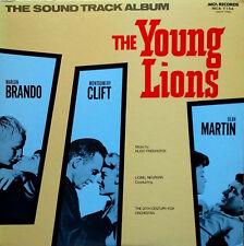 THE YOUNG LIONS - HUGO FRIEDHOFER - MCA LBL - JAPANESE PRESSING - LP SOUNDTRACK