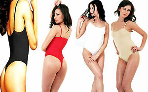 THONG-BODYSUITS-LEOTARDS-THIN-STRAPS-QUALITY-ALL-SIZES-COLOURS