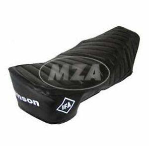 TOP Sitzbezug Bezug schwarz rot  strukturiert für Simson SR50 SR80 Roller