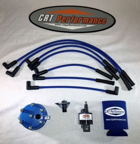 JEEP GRAND CHEROKEE 4.0L IGNITION TUNE UP KIT 1994-1997  BLUE CAP /& BLUE WIRES