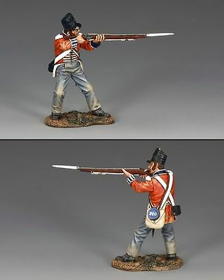 KING AND COUNTRY  NAPOLEONIC  STANDING FIRING (LEANING BACK)  NA291