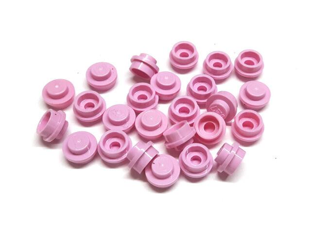 4517996 Lego Platte rund 1x1 Rosa 25 Stück