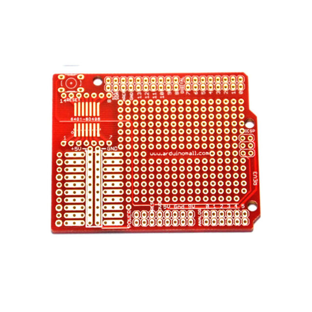 1PC Prototype PCB for Arduino UNO R3 Mega 1280 2560 328P Shield Board DIY Kit