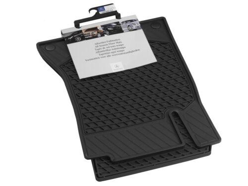 ORIG mercedes-benz alfombrillas de goma tapices C-Klasse w205 s205 a20568075089g33 parte delantera