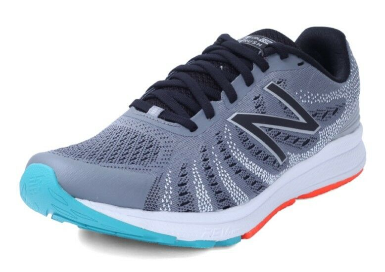 NEW Men's SZ 8D Medium NEW BALANCE Fuelcore Rush  MRUSHGO3 STEEL-GRAY