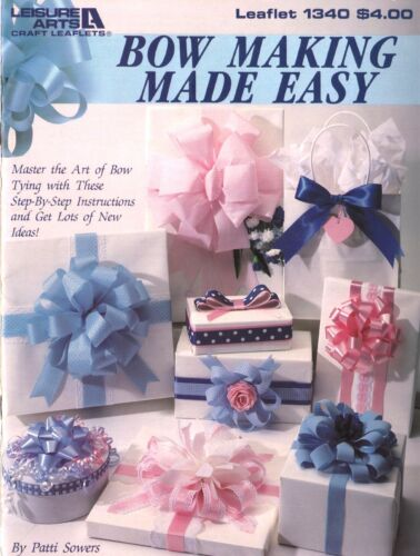 VTG REPRO BOW MASTER MAGIC INSTRUCTIONS W FREE HOW TO MAKE BOW BOOKS CD CRAFTS