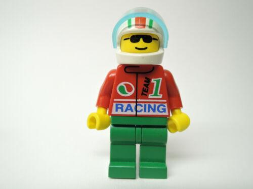 Lego Figur Racers Rennfahrer Octan Racing Team 5  oct033  1104 9287