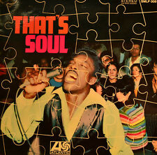 "VOLT STAX - THAT`S SOUL (VARIOUS ARTISTS) 12"" LP (U 176)"