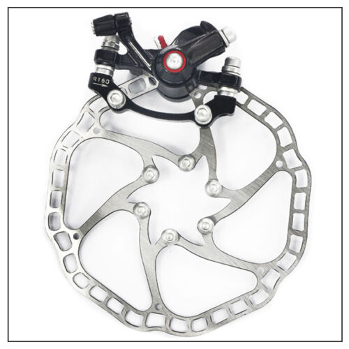 Mechanical Disc Brake Caliper with Lock 160mm Rotor For MTB Road Bicycle Durable