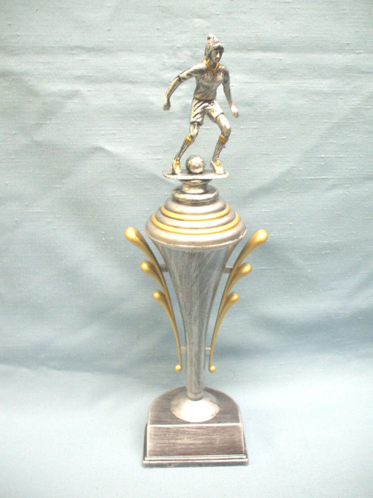 Team Menge Of 9 Damen Fußball Trophäen Auszeichnung Zinn Finish Pokal  | Rabatt
