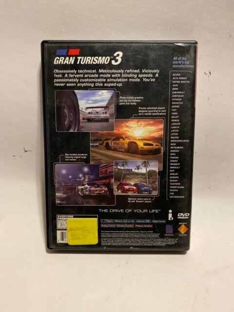 Gran Turismo 3 A-spec (Sony PlayStation 2, 2001) - European Version