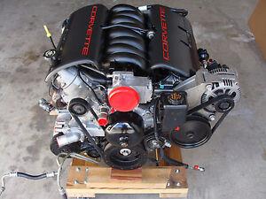 1998 ls1 345 hp corvette engine assembly w accessories. Black Bedroom Furniture Sets. Home Design Ideas
