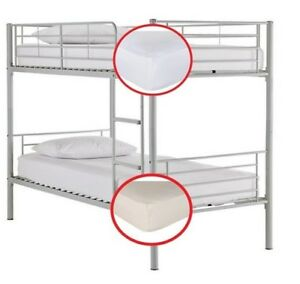 Bunk Bed Fitted Sheets 2 Ft 6 Small Single Elasticated Deep Sides