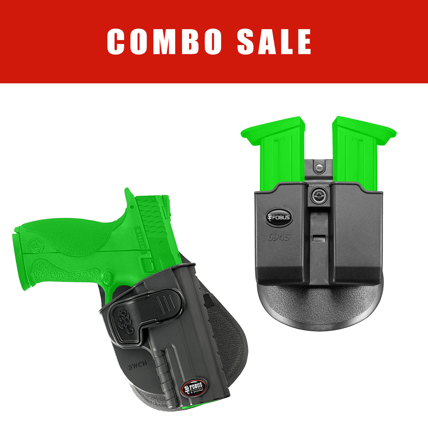 Fobus Concealed Holster & Double Mag Pouch Pouch Mag for S&W M&P .45 Full Größe - SWCH 6945 c2ed0a
