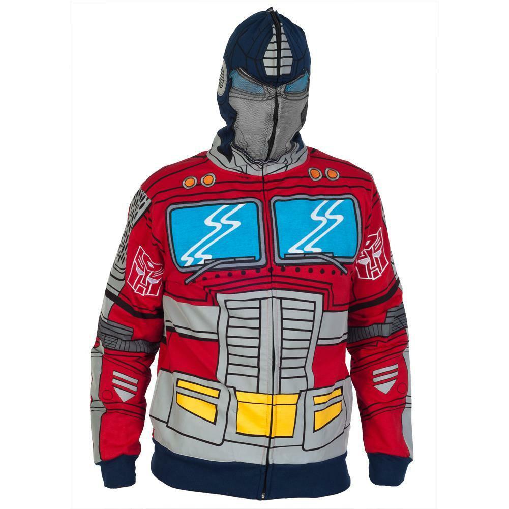 Transformers-Optimus Prime Disfraz Zip Hoodie   Ven a elegir tu propio estilo deportivo.