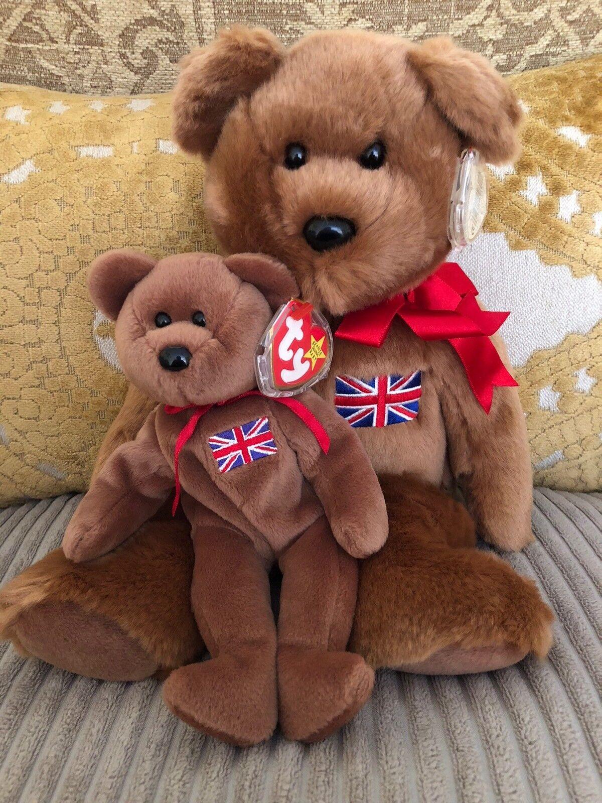 TY Britannia Buddy And Bear