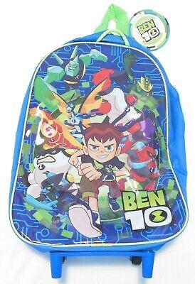 100% Vero Ben 10 Junior Trolley Standard Di 38 Cm Di Altezza Per Bambini Vacanze Spiaggia Viaggio Verde Blu-mostra Il Titolo Originale