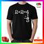 Quick Maths T-shirt Tee tshirt Drôle Grossier Unisexe pas chaud Ting va UK Parodie 2