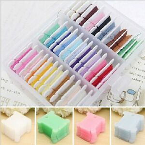 100Pcs-Embroidery-Floss-Craft-Thread-Bobbin-Cross-Stitch-Storage-Holder-Plastic