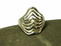 Sterling Silver 925 Ring - Size : N - Gift Boxed