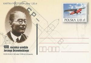 Poland prepaid postcard (Cp 1285) Jerzy DRZEWIECKI - Bystra Slaska, Polska - Poland prepaid postcard (Cp 1285) Jerzy DRZEWIECKI - Bystra Slaska, Polska