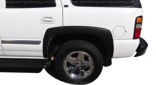 FENDER FLARES CHEVY TAHOE 2000-2006 Black 6 Piece Set For