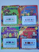 Kids Music Cassettes Tapes 1, 5, 7& 9 Free Shipping