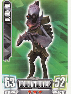 Base Cards  121-170 Star Wars Force Attax Series 1