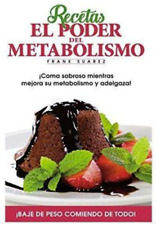 Metabolismo Ultra Poderoso Frank Suarez Mexican Book for