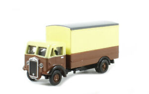 BT Models Albion CX Box Van /'Chocolate//Cream/' Die Cast 1:148 Scale N Gauge