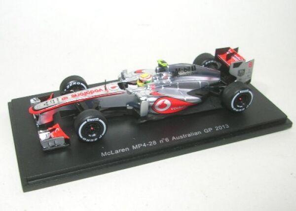 McLaren mp4-28 No. 6 sergio perez Australian GP 2013