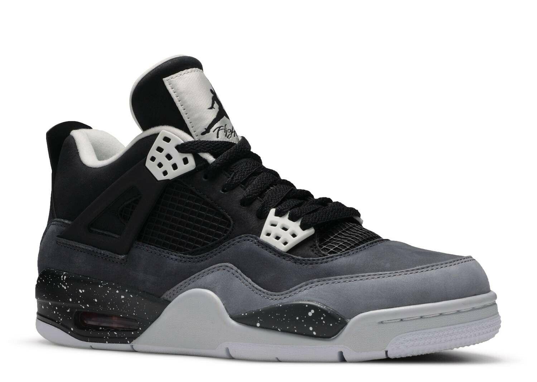 Air Jordan 4 Retro 'Fear' Black White