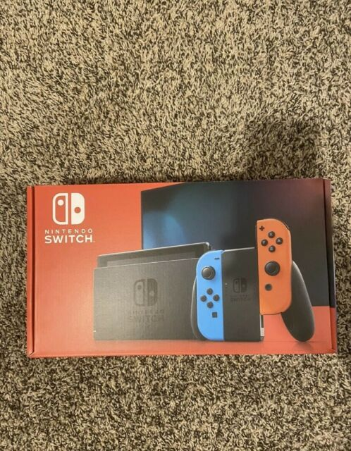 NEW Nintendo Switch 32GB Console with Neon Red/Blue Joy‑Con *SAME DAY SHIPPING*