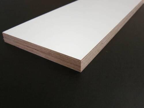 Multiplexplatte beschichtet farbig weiß 18mm Platte Zuschnitt Multiplex Platte